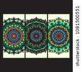 beautiful hand drawn indian... | Shutterstock . vector #1081500551