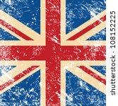 uk retro flag   Shutterstock .eps vector #108152225