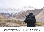 photographer taking photograph... | Shutterstock . vector #1081554449