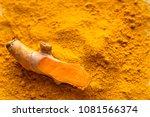 Fresh Root And Turmeric Powder  ...