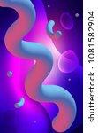 light blue  red vertical... | Shutterstock . vector #1081582904