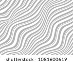 warped gray lines for your... | Shutterstock . vector #1081600619