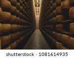 a cheesemaker controls the... | Shutterstock . vector #1081614935