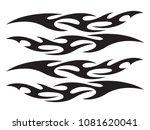 graphic design tattoo | Shutterstock .eps vector #1081620041