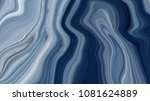 marble ink colorful. blue... | Shutterstock . vector #1081624889