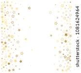 gold stars background frame... | Shutterstock .eps vector #1081624964
