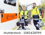 paramedic nurse and emergency...
