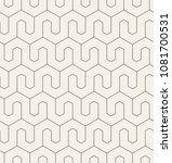 vector seamless pattern. modern ... | Shutterstock .eps vector #1081700531