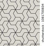 vector seamless pattern. modern ...   Shutterstock .eps vector #1081700834
