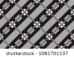 geometric seamless pattern with ... | Shutterstock .eps vector #1081701137