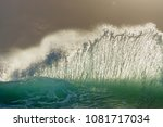 wave breaking  gold coast | Shutterstock . vector #1081717034
