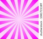 sun rays vintage background ... | Shutterstock .eps vector #1081721189