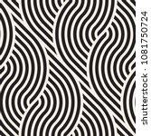 vector seamless pattern. modern ... | Shutterstock .eps vector #1081750724