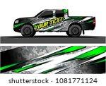 truck graphic vector. abstract...   Shutterstock .eps vector #1081771124