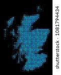 halftone dot scotland map.... | Shutterstock .eps vector #1081794434
