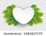 infographic design with green... | Shutterstock .eps vector #1081827179