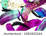 very beautiful abstract art.... | Shutterstock . vector #1081832264