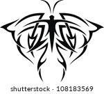 the stylized image of the... | Shutterstock .eps vector #108183569