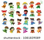 cartoon vector illustration of... | Shutterstock .eps vector #1081839089