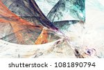 abstract painting color texture.... | Shutterstock . vector #1081890794