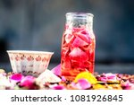 ayurvedic face pack to reduce... | Shutterstock . vector #1081926845