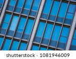 steel and glass exterior of... | Shutterstock . vector #1081946009