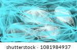 abstract drawing of a set of... | Shutterstock . vector #1081984937