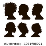 Silhouettes Of African America...