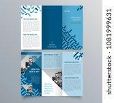 brochure design  brochure... | Shutterstock .eps vector #1081999631