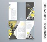 brochure design  brochure... | Shutterstock .eps vector #1081999781