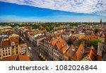 aerial view. old town of torun. ... | Shutterstock . vector #1082026844