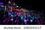 full moon party  koh phangan... | Shutterstock . vector #1082033117