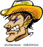 aggie,art,artwork,face,farmer,gaucho,graphic,hat,head,high school,husker,illustration,image,man,mascot