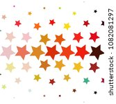 star colorful vector background.... | Shutterstock .eps vector #1082081297