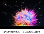 static electricity or...   Shutterstock . vector #1082086895