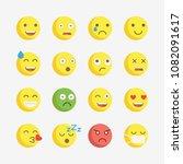 emoji. vector icons emoji....   Shutterstock .eps vector #1082091617