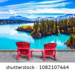 warm september in rocky... | Shutterstock . vector #1082107664