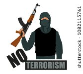 Terrorist With Weapon. Stop...