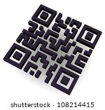 e commerce qr code | Shutterstock . vector #108214415