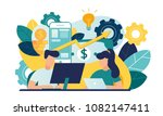 vector creative illustration of ... | Shutterstock .eps vector #1082147411