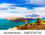 view on remote landscape on... | Shutterstock . vector #1082156735