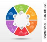 circle shape infographic design ...   Shutterstock .eps vector #1082181251