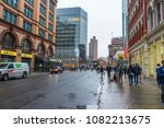 new york  usa   april  25 2018  ... | Shutterstock . vector #1082213675