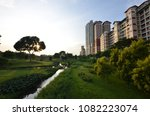 bishan ang mo kio park  as one... | Shutterstock . vector #1082223074