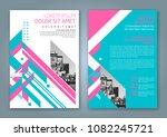 abstract minimal geometric... | Shutterstock .eps vector #1082245721