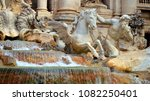 rome italy  2012  trevi... | Shutterstock . vector #1082250401