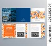 brochure design  brochure... | Shutterstock .eps vector #1082252504