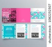brochure design  brochure... | Shutterstock .eps vector #1082252507