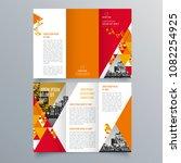 brochure design  brochure...   Shutterstock .eps vector #1082254925