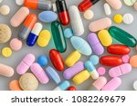 a lot of capsules and tablets...